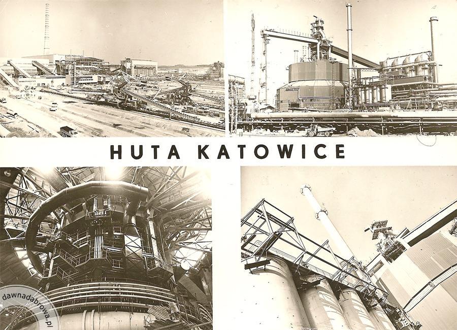 Budowa Huty Katowice Dawna Dąbrowa