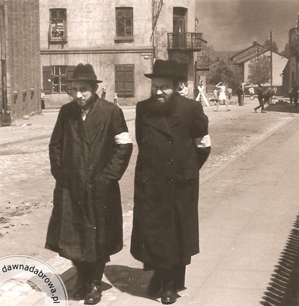Żydzi w dąbrowskim getcie